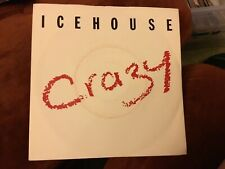 """Icehouse- Crazy- Completely Gone- Chrysalis Records 7""""1987"""