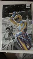 Mighty Morphin Power Rangers Necassary Evil 50 Virgin Variant