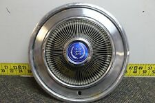 "OEM Ford Single 15"" Hub Cap Wheel Cover Blue Center D4AZ1130D 1973-78 (439)"