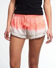 Superdry Mujer Pantalones cortos Schiffli Beach Rio Coral