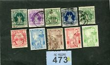 Lot  stamps  of   Burma