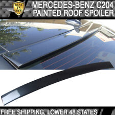 USA Stock 12-15 BENZ C204 OE Roof Spoiler Painted# 755 Steel Gray Metallic