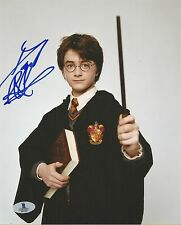 DANIEL RADCLIFFE AUTOGRAPHED SIGNED HARRY POTTER BAS COA 8X10 PHOTO