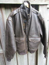 Avirex 'Cockpit' Leather A2 Jacket