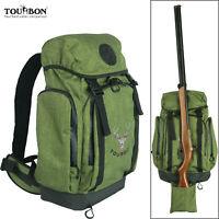 Tourbon Hunting Backpack Trekking Travel Gun Carrying Overnight Rucksack Green