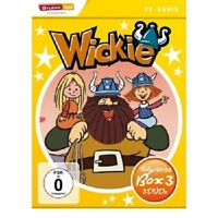 WICKIE UND DIE STARKEN MÄNNER (BOX 3, FOLGE 40-59)  3 DVD  TV-SERIE  NEU