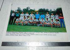 CLIPPING POSTER FOOTBALL 1988-1989 QUIMPER CORNOUAILLE FC BREIZH BRETAGNE