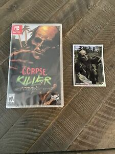 Corpse Killer (Nintendo Switch) Brand New Sealed + Card #158 Limited Run Games