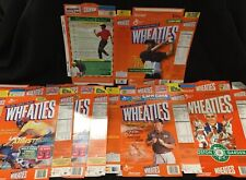 Lot of 5 Sports Wheaties boxes New Unfolded g5 (1)