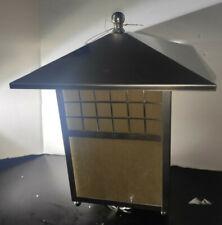 "JOHN TIMBERLAND Lighting Mission Light 14"" Outdoor Head Post Stainless Steel"