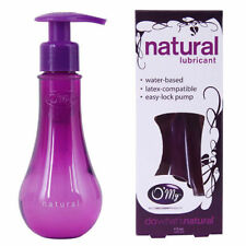 O'My OMy Natural Water Based Personal Lubricant 4 oz