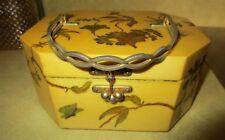 Vintage Diehl Decoupage Butterflies Purse Handbag - 1973
