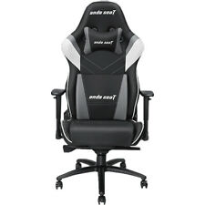 Anda Seat Assassin King Series Gaming Chair - Black, White and Grey (AD4XL03BWGP