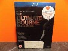 Ultimate Bourne Collection Blu-Ray Identity Supremacy Ultimatum F251