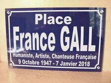 Place France GALL objet collector collection cadeau année 60 yéyé