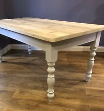 Reclaimed Rectangular Rustic Solid Wood Table Top Hand Made Farm House Style