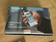 Ericsson T39m box, clip & papers, nur Verpackung Karton Packaging