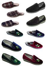 Damen Herren Pantoffeln Hausschuhe Schlappen Latschen Gr.36-46 neu Winter warm