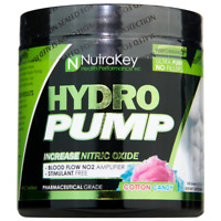 Nutrakey Hydro Pump - Cotton Candy - 30 Servings -150gm - SAME DAY FREE SHIPPING
