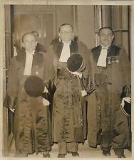 PHOTO NYT + PARIS + 8 mars 1937 + M. DUCOM Procureur de la République + PICQ