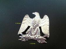 Mint ** Napoleon I - Imperial Eagle-  Massive Sterling Silver Brooch