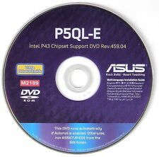 ASUS P5QL-E Motherboard Drivers Installation Disk  M2189