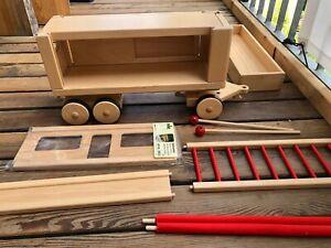 nic Creamobil Ergänzung Container Käfig Wohnwagen Anhänger Holz