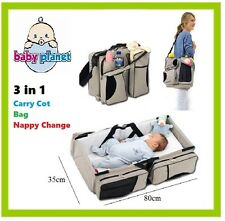 Baby Carry Cot Bag Nappy Change Bassinet Easy Travel Sleep Bath Infant Camping