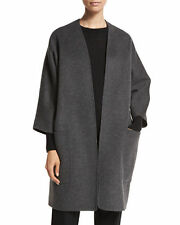 V NWT VINCE REVERSIBLE WOOL CASHMERE WOMEN CARDIGAN COAT SIZE M $695