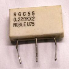 Noble Emitter resistor 2x0,22ohm 5W