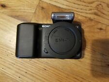 Sony NEX-3 14.2MP camera (Body Only) with Flash attachment