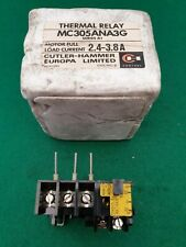 Cutler Hammer MC305ANA3G Thermal Overload Relay 2.4 - 3.8  Amp
