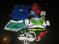 Build A Bear Lot ~ Clothes, Shoes, Carrier, Backpack & School Supplies BABW