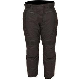 Buffalo Waterproof Ladies Gina Motorcycle Motorbike Trousers Pants Jeans - Black