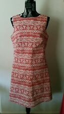 NEW Holly leave tailored shift dress, size 12