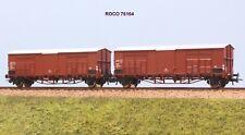 ROCO art. 76164 FS set 2 carri chiusi a 2 assi tipo F a passo lungo ep. IV