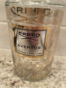 Creed Aventus Empty Bottle 16.8 oz with tops