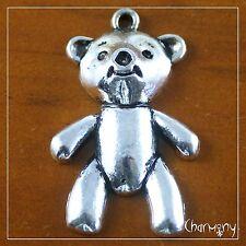 Huge Teddy Bear charm ~1 piece~ for DIY pendant key ring 37mm baby shower gift