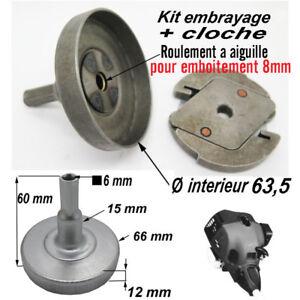 PIECE kit embrayage + cloche a roulement deboussailleuse lanceur demarreur avant