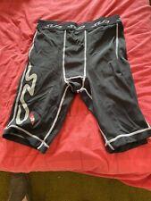 Mens Base Layer / Gym Sub Sports Skin Shorts Black Large