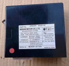 28594-3S310 KEYLESS ENTRY SYSTEM CONTROL ASSY NISSAN D22 4WD TD25T