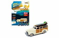 Johnny Lightning Chevrolet Special Dexlue Woody 1941 Surf Rods 1/64 LTD 2400 PCS