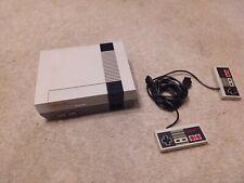 Nintendo Console NES 1985 Original Nintendo & 2 Controllers NES-001 (no cables)