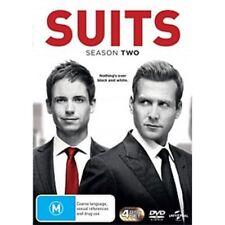 SUITS Season 2 DVD 4-Disc Set NEW