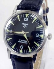 VINTAGE MEN'S HMT MILITARY LUME DIAL 17JEWELS WINDING WRIST WATCH FOR GENTS WEAR