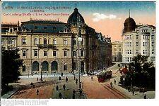 Lemberg Lwiw Lwow AK 1917 Tram Straßenkreuzung Street Ukraine 1508196