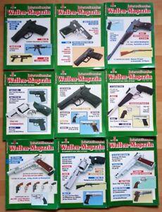 Waffenmagazin 1993 komplett Zeitschrift Pistolen Hefte internationales Jahrgang