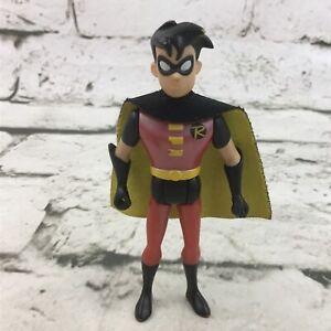 "DC Comics Teen Titans Robin 4"" Action Figure Comic Book Super Hero Sidekick Toy"