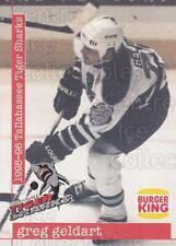 1995-96 Tallahassee Tiger Sharks #14 Greg Geldart