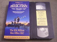 RARE PROMO SCREENER Adventures of Huck Finn VHS video DISNEY Elijah Wood HOBBIT